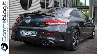 Mercedes C43 AMG 4Matic Coupe (2019)| INTERIOR - EXTERIOR and DRIVE