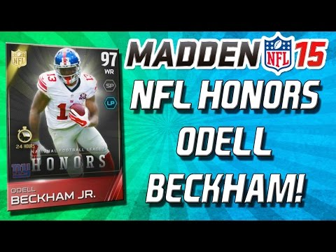 Madden 15 Ultimate Team - NEW! ODELL BECKHAM & AARON DONALD! - LIMITED EDITIONS! - MUT 15