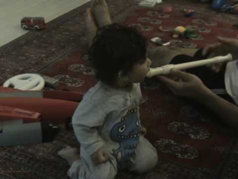 krish playing flute