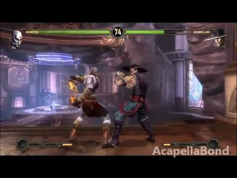 Mortal Kombat 9 - Arcade Ladder - Kratos 1/2
