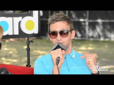 Fun. Backstage Q&A @ Lollapalooza 2012