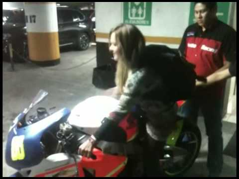 Video moto Vania Medrano