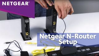 01. How To Install a NETGEAR N-Router with the Installation Assistant