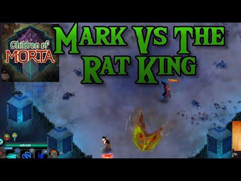 Mark Vs. King of Rats | Children of Morta