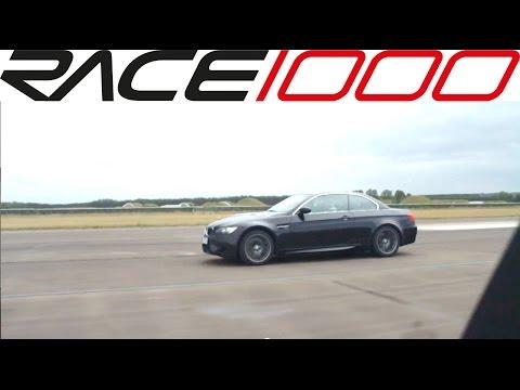 Mercedes C63 AMG vs. BMW M3 E93 (60-250kmh) DRAG RACE