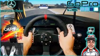 🔴► Project CARS - Logitech G27 - Mercedes 190E DTM Evolution2 @ Laguna Seca - Triple Screen