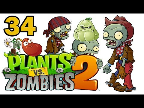 ч.34 Plants vs. Zombies 2 - Ancient Egypt - Day 21