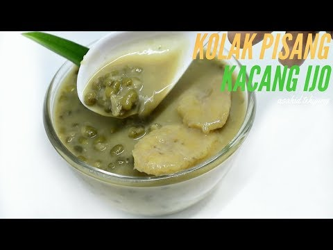 Green Pea Banana Compote without Coconut Milk