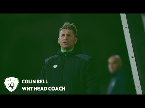 #IRLWNT INTERVIEW | Colin Bell delighted with Slovakia victory