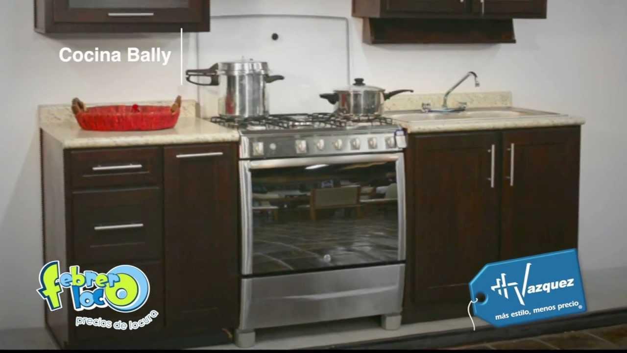 Hermanos vazquez febrero loco 2012 cocina bally youtube for Catalogo de cocinas integrales