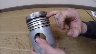 Caterpillar D2 Design Failure - Disassembling the Notoriously Weak Multi-Piece Piston