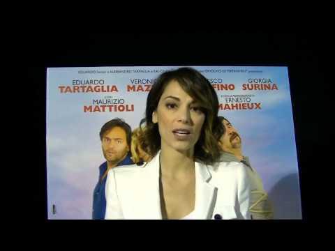 """Intervista a Giorgia Surina protagonista femminile del film """" Sono un pirata, sono un signore"""""""