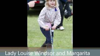 Lady Louise Windsor and Margarita Armstrong-Jones