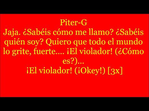 El violador - Piter G [Shot] (Letra)