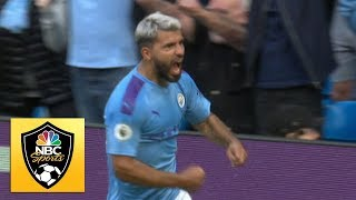 Manchester City retake lead on Sergio Aguero's goal against Tottenham | Premier League | NBC Sports