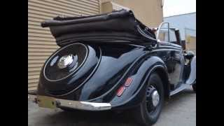 1939 BMW 326 Convertible Priced very reasonably at just $97,500.