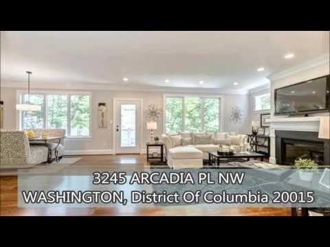 Luxury Homes in DC Properties For Sale -  3245 ARCADIA PLACE NW WASHINGTON, DC 20015