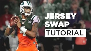 How to Jersey Swap: Deshaun Watson to New York Jets Tutorial