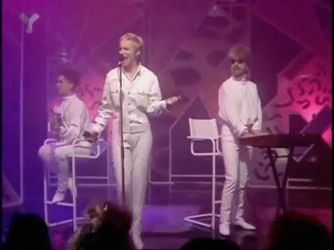 Eurythmics - There Must Be Angel Playing with my Heart - Top of the Pops - 25th July 1985