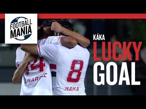 Kaká (São Paulo) - Lucky goal vs. Criciúma (Paulo Henrique Ganso assist)