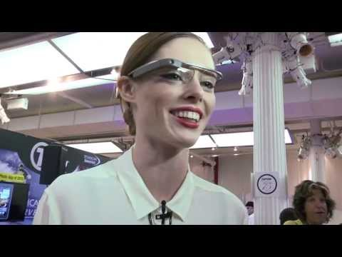 Coco Rocha's Take on Google Glass