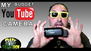 My budget youtube camera CANON VIXIA HF R800 Black