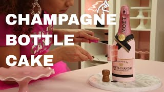Moet Rose Champagne CAKE?? | Prosecco Flavored! | How To Cake It with Yolanda Gampp