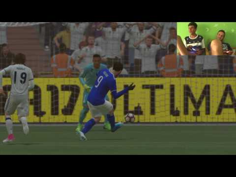 FIFA 17 ITA | Real Madrid vs Juventus | Gameplay 2017