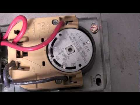 How the Honeywell fan and limit switch works.