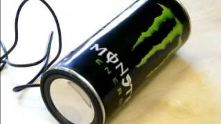 Tutorial: Monster Energy Speaker Can by PyroPiraat - How to make your own one!