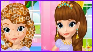 Watch & Learn Princess Sofia Make up Tutorial Video Game-Sofia The First Games Online