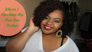 "Where I Buy My ""Plus Size"" Clothes 