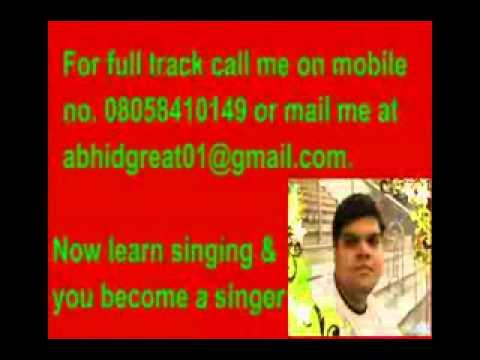 Udi Neendein Aankhon Se Karaoke- Guzarish.flv video