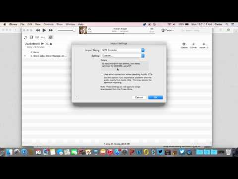 How to Convert iTunes AudioBooks/M4B to MP3 (Mac)