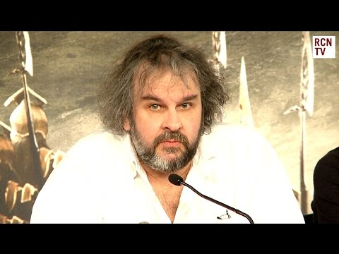 Peter Jackson Interview - The Hobbit Battle of the Five Armies Premiere