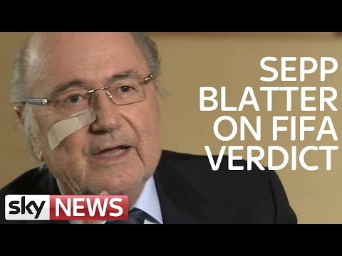 Sepp Blatter Responds To FIFA Suspension