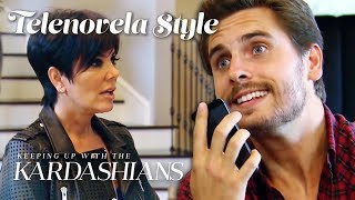 Scott Disick's Evil Alter Ego Todd Kraines Is Obsessed With Kris Jenner | KUWTK Telenovelas | E!