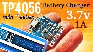 Charging Lithium 18650 Cells : Overcharge Protection for 3.7v Battery