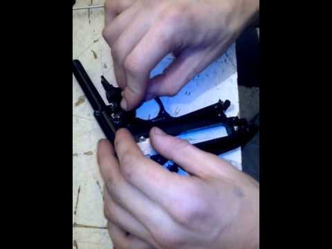 разборка и сборка пистолета пневматического ПМ (пистолет макаров) фирмы umarex