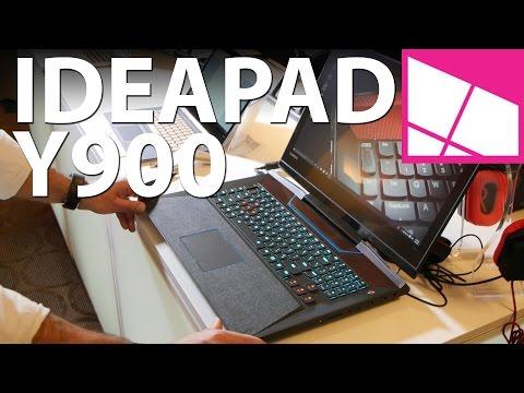 Lenovo Ideapad Y900 gaming laptop