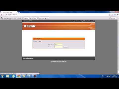 come installare un router d-link dsl-2640b