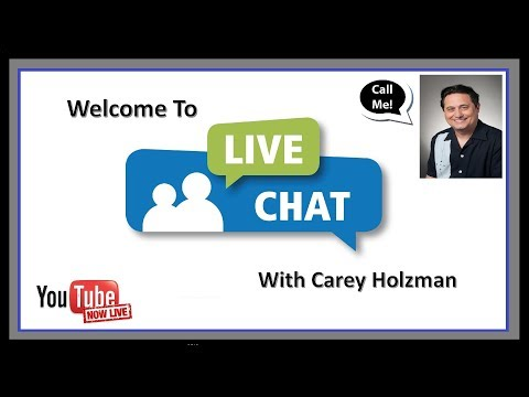 LIVE CHAT SEPT 24, 2018