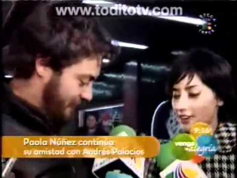 ... DE NOVELA JUNTOS, IMAGENES DE ANDRES PALACIOS Y PAOLA NUÑEZ, CANCION