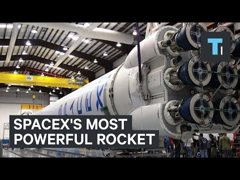 SpaceX's most powerful rocket test