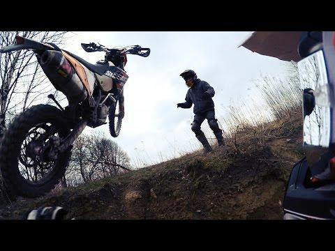 MOJE WYPADKI NA MOTORZE! ENDURO FAILS!
