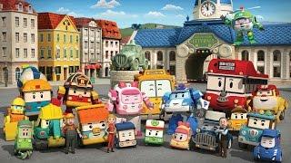 รีวิวรถของเล่น โรโบคาร์ โพลี รถดั้ม รถดับเพลิง รถพยาบาล รถตำรวจ Robocar Poli cartoon