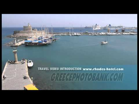 Rhodes Town and Mandraki Harbour FULL HD Introduction
