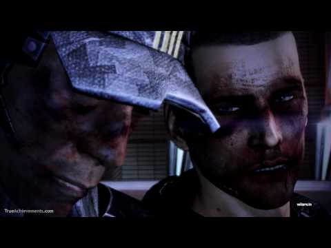 Mass Effect 3: Red Good Ending. Shepard alive