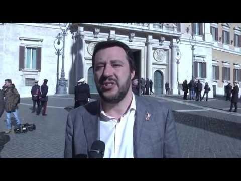 Quirinale - Salvini: Scheda bianca? Domani noi votiamo un uomo libero Vittorio Feltri