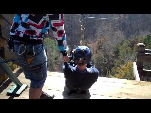 Wahoo ziplines in Gatlinburg Tennessee